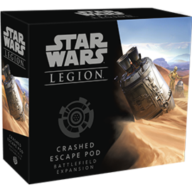 FANTASY FLIGHT FFG SWL43 CRASHED ESCAPE POD EXPANSION LEGION