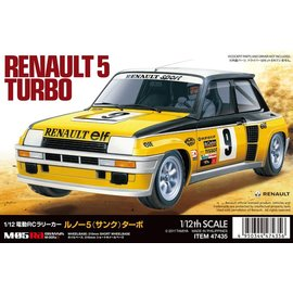 TAMIYA TAM 47435 1/12 RC Renault 5 Turbo M-05Ra Limited Edition RC KIT