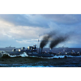 TRUMPETER TRU 5333 1/350 HMCS Huron G24 Canadian Tribal-Class Destroy