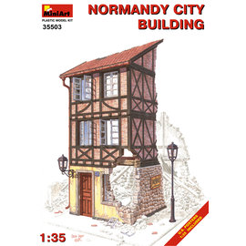 MINIART MNA 35503 1/35 NORMANDY CITY BUILDING KIT