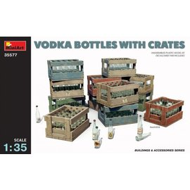 MINIART MNA 35577 VODKA BOTTLES WITH CRATES 1/35 MODEL KIT