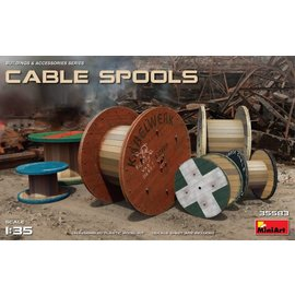 MINIART MNA 35583 CABLE SPOOLS 1/35