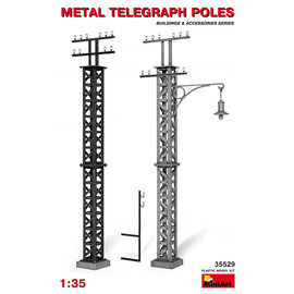 MINIART MNA 35529 1/35 Metal Telegraph Poles MODEL KIT