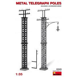 MINIART MNA 35529 1/35 Metal Telegraph Poles MODEL KIT