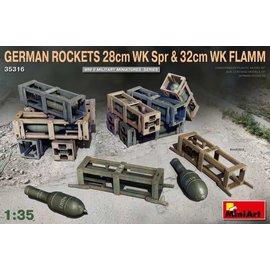 MINIART MNA 35316 GERMAN ROCKETS 1/35 MODEL KIT