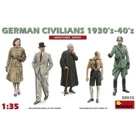 MINIART MNA 38015 GERMAN CIVILIANS 1930-40 MODEL KIT