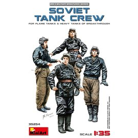 MINIART MNA 35254 SOVIET TANK CREW 1/35 MODEL KIT