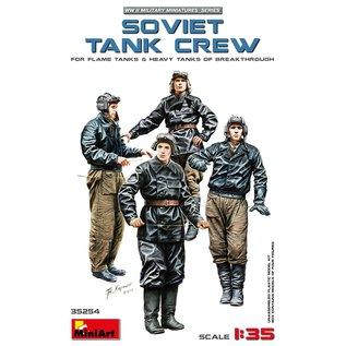 MINIART MNA 35254 SOVIET TANK CREW 1/35 MODEL KIT