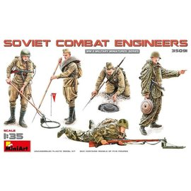 MINIART MNA 35091 SOVIET COMBAT ENGINEERS 1/35 MODEL KIT