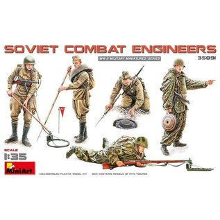 MINIART MNA 35091 SOVIET COMBAT ENGINEERS 1/35 MODEL KIT