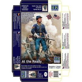 MASTERBOX MNA 35197 AT THE READY CIVIL WAR FIGURE KIT 1/35