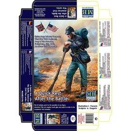 MASTERBOX MNA 35196 QUICK REST CIVIL WAR FIGURE 1/35 MODEL KIT