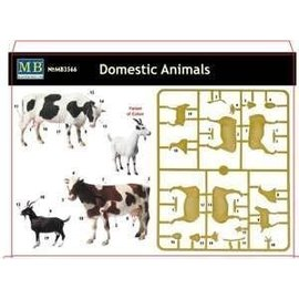 MASTERBOX M/B 3566 DOMESTIC ANIMAL 1/35 MODEL KIT