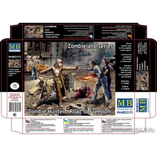 MASTERBOX M/B 35175 ZOMBIE HUNT ROAD TO FREEDOM 1/35 MODEL KIT