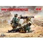ICM 35645 WW2 GERMAN MG TEAM MODEL KIT