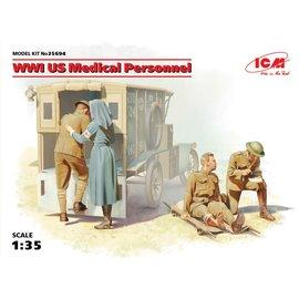 ICM 35694 WW1 US MEDICAL PERSONNEL 1/35 MODEL KIT