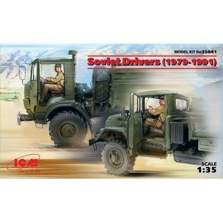 ICM 35641 SOVIET DRIVERS 1979-1991 1/35 MODEL KIT