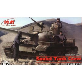 ICM 35601 1/35 Soviet Tank Crew 1979-1988 MODEL KIT