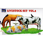 RIH 35015 LIVESTOCK SET VOL.2 MODEL KIT 1/35
