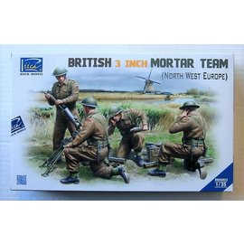 RIH 35022 BRITISH3 INCH MORTAR TEAM 1/35 MODEL KIT