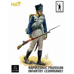 HAT 9319 NAPOLEONIC PRUSSIAN INFANTRY COMMAND 1/32 MODEL KIT