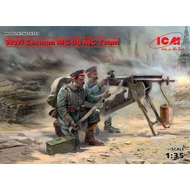 ICM  35711 WW1 GERMAN MACHINE GUN NEST 1/35 MODEL KIT
