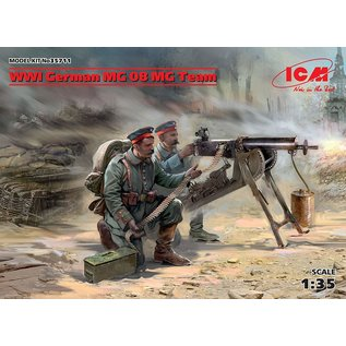 ICM  35711 WW1 GERMAN MACHINE GUN NEST 1/35 MODEL KIT