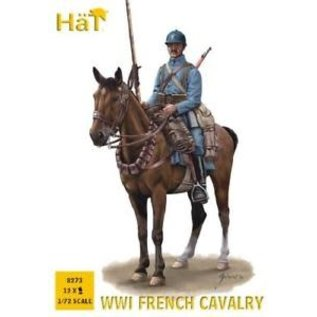 HAT 8273 WWI FRENCH CAVALRY 1/72 MODEL KIT 12 PACK