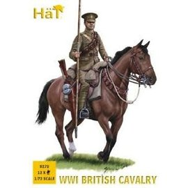 HAT 8272 WWI BRITISH CAVALRY 1/72 MODEL KIT 12 PACK