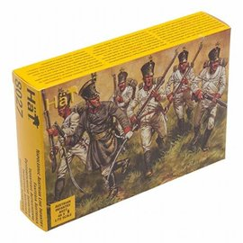 HAT 8027 NAPOLEONIC AUSTRIAN LINE INFANTRY 1/72 PACK OF 48
