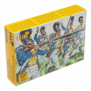 HAT 8028 NAPOLEONIC BAVARIAN INFANTRY 1/72 PACK OF 48