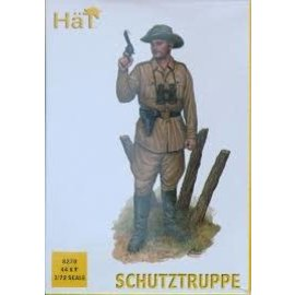 HAT 8270 WW1 SCHUTZTRUPPE 1/72 MODEL KIT 44 PACK