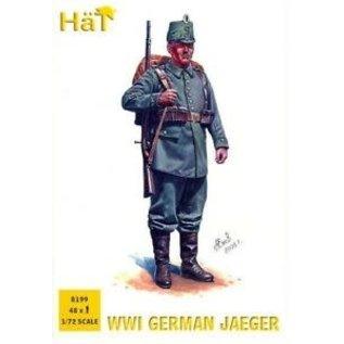 HTI 8199 WW1 GERMAN JAEGERS 1/72 48 PACK