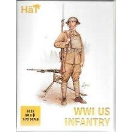 HAT 8112 WW1 US INFANTRY SET 1/72 MODEL KIT 80 PACK
