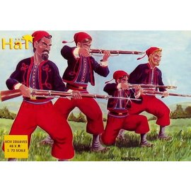 HAT 8004 AMERICAN CIVIL WAR ZOUAVES 1/72 MODEL KIT 48 PACK