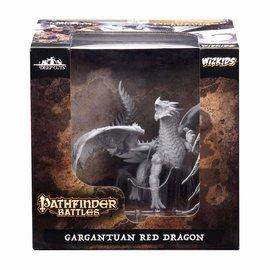 WIZKIDS W/K 73144 PATHFINDERS GARGANTUAN RED DRAGON