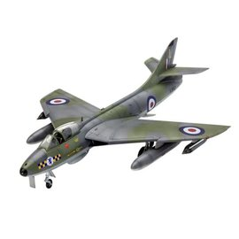 REVELL GERMANY REV 03908 HAWKER HUNTER FGA9 1/72 MODEL KIT