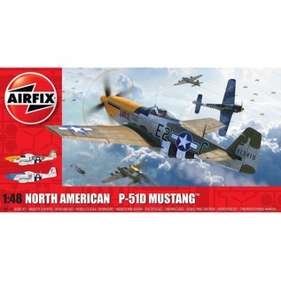 AIRFIX AIR A05138 NORTH AMERICAN P-51D MUSTANG 1/48 MODEL KIT