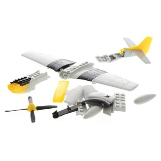 AIRFIX AIR J6016 P51 MUSTANG QUIK BUILD KIT