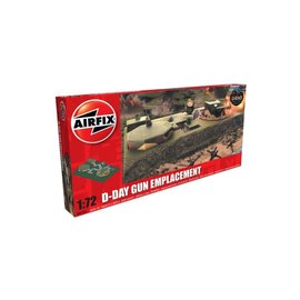 AIRFIX AIR 05701 D DAY GUN EMPLACMENT 1/72 MODEL KIT