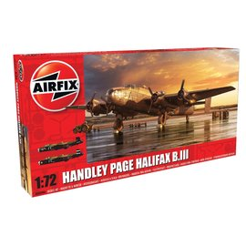 AIRFIX AIR 6008A HANDLEY PAGE HALIFAX B.III MODEL KIT 1/72