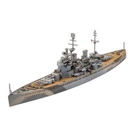 REVELL GERMANY REV 05161 1/1200 HMS GEORGE V MODEL KIT