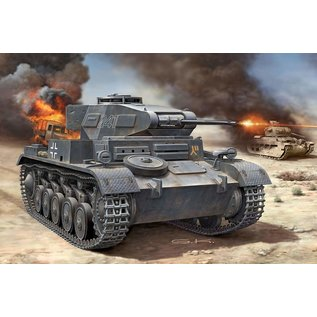 REVELL GERMANY REV 03229 1/76 Panzer II Ausf. F model kit
