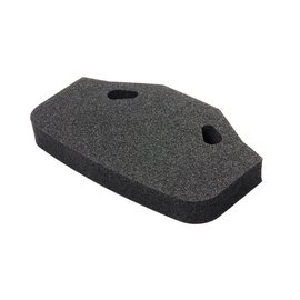 TAMIYA TAM 54819 Urethane Bumper XL, Black :TT-02, TT-01 Type-E