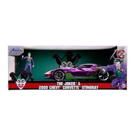 "JADA TOYS JAD 31199 Jada 1/24 ""Hollywood Rides"" 2009 Corvette Stingray Concept with Joker"