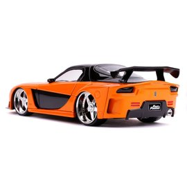 """JADA TOYS JAD 30732 Jada 1/24 """"Fast & Furious"""" Han's Mazda RX-7 diecast"""