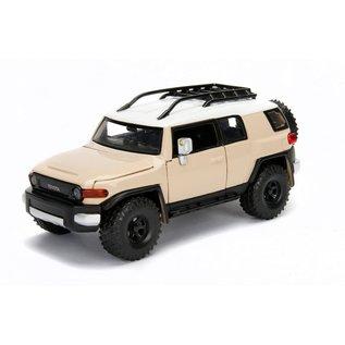 """JADA TOYS JAD 99319  Jada 1/24 """"Just Trucks"""" Toyota FJ Cruiser - Beige"""