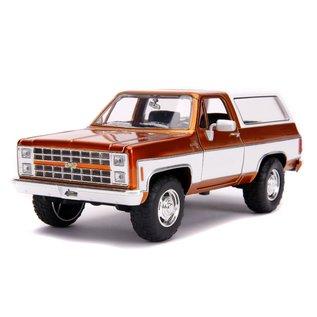 "JADA TOYS JAD 31591 Jada 1/24 ""Just Trucks"" 1980 Chevy K5 Blazer Stock - Copper"