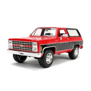 "JADA TOYS JAD 31593 Jada 1/24 ""Just Trucks"" 1980 Chevy K5 Blazer Stock - Glossy Red"