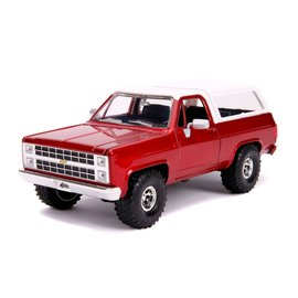 "JADA TOYS JAD 31594 Jada 1/24 ""Just Trucks"" 1980 Chevy K5 Blazer Off Road - Metallic Red"